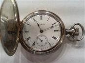 ELGIN Pocket Watch 1907 925 Silver 41.7g